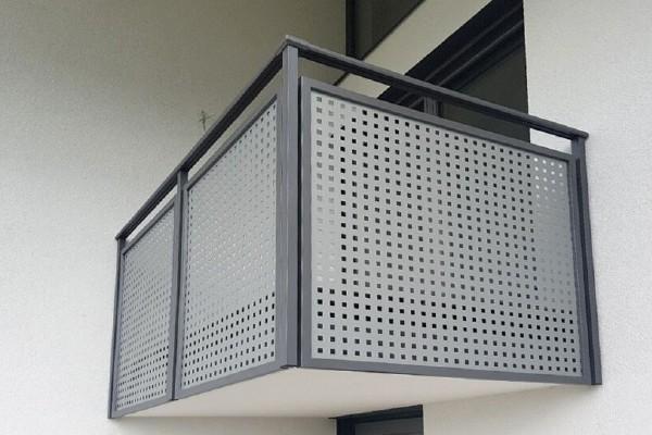 Balkonbeispiel Fliesen